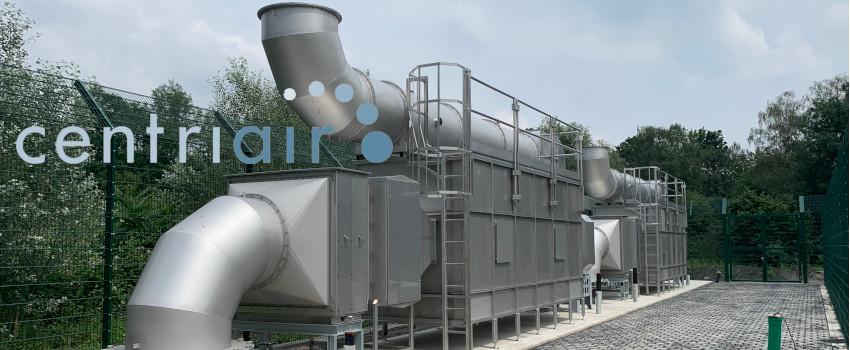 Anlage zur Abluftreinigung Centriair ColdOxTM